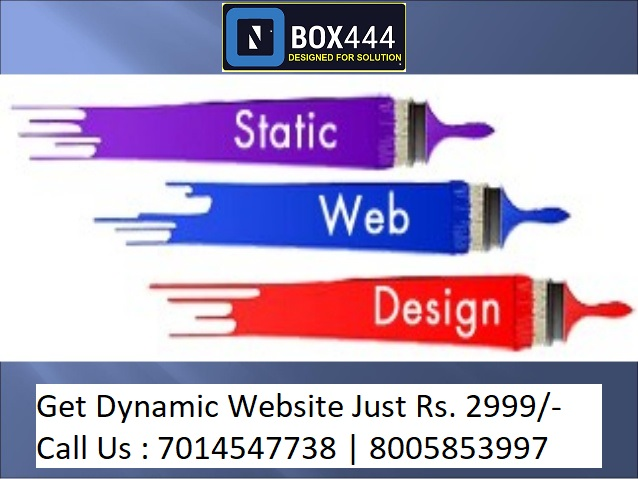 Static Website Design Company Jaipur India
