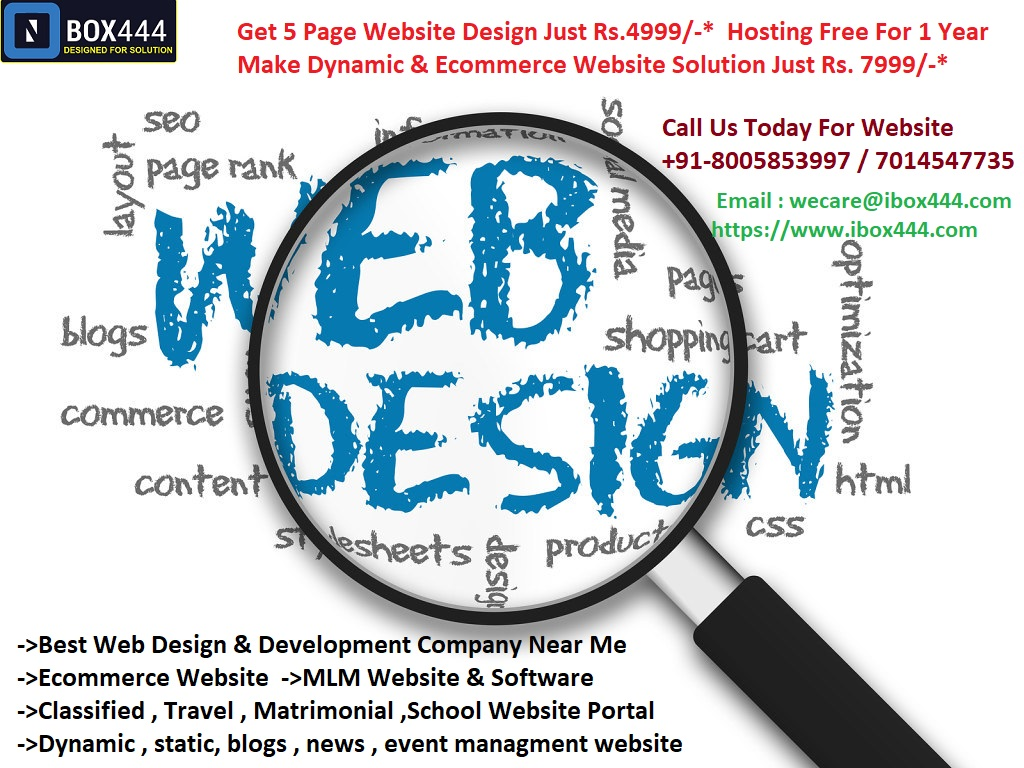 Website Design Created At Affordable Cost In Delhi/NCR