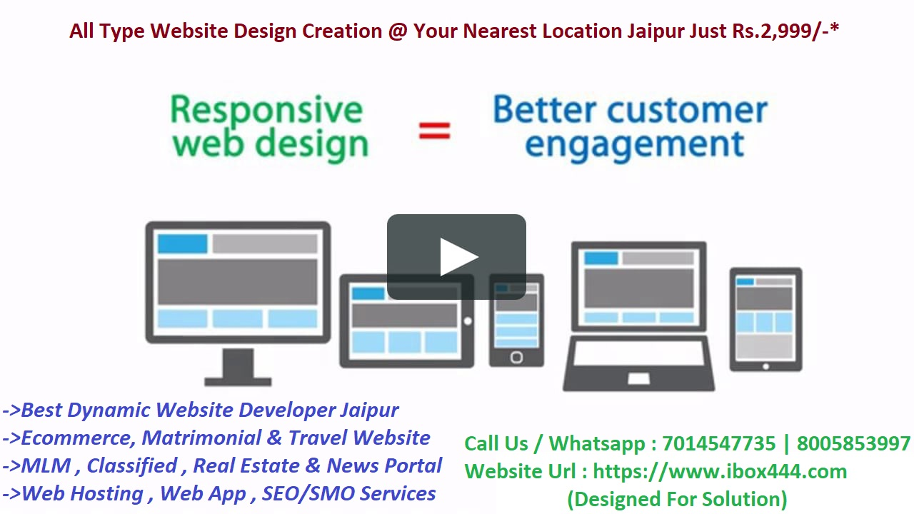 Web Design Creation (Maker) in Sodala Jaipur